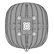 Testa Motore EKL 60cc BMB Easykart, MONDOKART