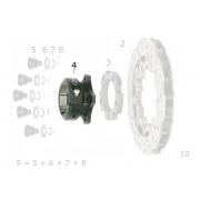 Mozzo disco V04/V05 post. 50