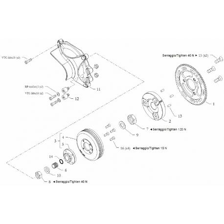 Corona Avviamento Z70 EKA / HAT