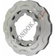 Disco Freno Posteriore CRG 195mm V05 (Ven05) Ghisa, MONDOKART