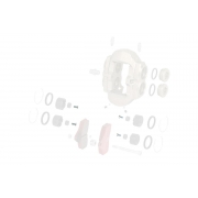 Vite TPSCEI testa svasata m3x8 pinza anteriore BSS KZ TonyKart OTK