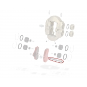 Spina sicurezza pinza anteriore BSS KZ TonyKart OTK