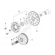Rondella Frizione TM 60cc mini