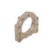 Supporto assale 3 posizioni 40 / 50 alluminio Sinistro OTK